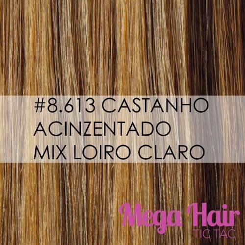 #8/613 Castanho Acinzentado mix Loiro Claro