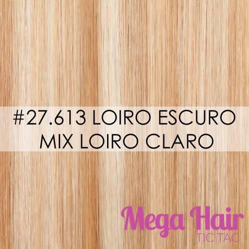 #27/613 Loiro Escuro mix Loiro Claro