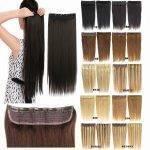 Mega Hair Tic Tac 51 cm -120 gramas 1 Peça Cabelo Humano