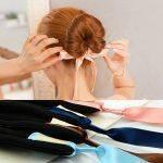 Acessórios de Cabelo Arco Donut Bun com Laço para Penteado Coque