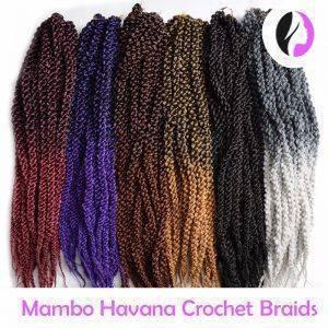 Crochet Braids Mambo Havana 55 cm 120 gramas