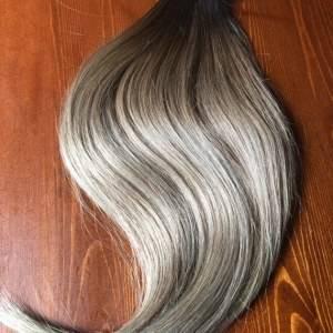 Mega Hair Fita Adesiva Cabelo Humano Ombre Loiros
