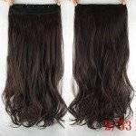 Mega Hair Tic Tac Cabelo Sintético 60 cm 110 Gramas Ondulado Resistente Ao Calor