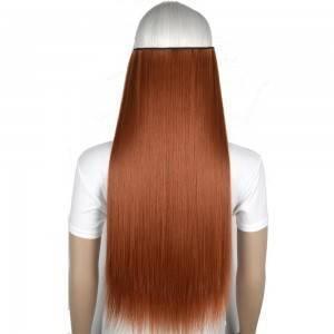 Mega Hair Resistente Calor Fibra Sintética 70 cm 130gr liso 5 tic tac 30 cores disponíveis