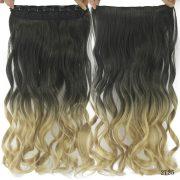 Cabelo Orgânico Sintético ombre hair loiro