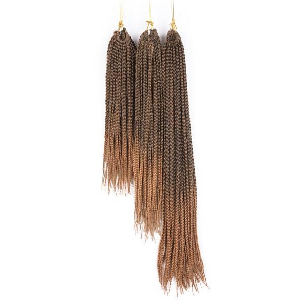 5 pacotes Tranças para Crochet Braids Kanekalon Ombre 35 cm a 61 cm cor 30