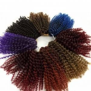 Crochet Braids Marley Hair Cabelo Sintético Ombre