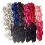 kit 6 pacotes Dreadlocks Crochet Braids