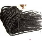 kit 5 pacotes Tranças para Crochet Braids Cabelo Sintético 51 cm Ombre