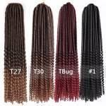Crochet Braids Kanekalon Dreadlocks Encaracolado 61 cm Kit 10 pacotes