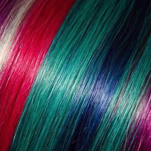 Cabelos Tons Coloridos