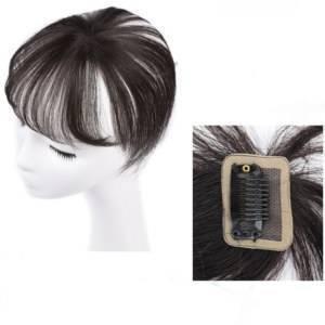Franja 360 cabelo natural topo de cabeça