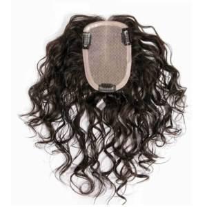Prótese de preenchimento cabelo humano alta qualidade